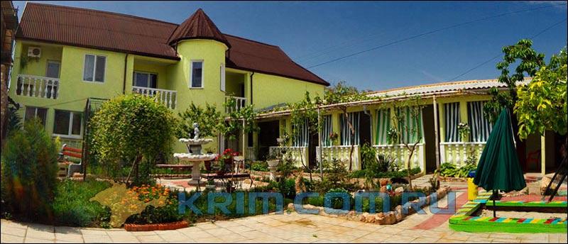 гостевой дом в Алупке