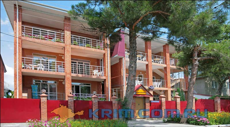 Гостиницы в Алупке