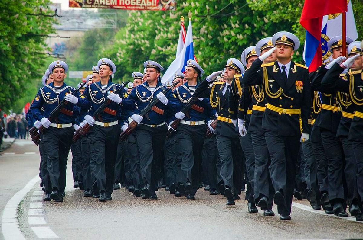 Парад в Севастополе 9 мая