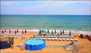 Пляжи в Учкуевке