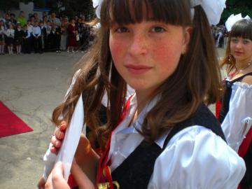 Последний звонок. Школа 34, Севастополь, выпуск 2009г
