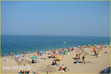 Учкуевка. Пляж