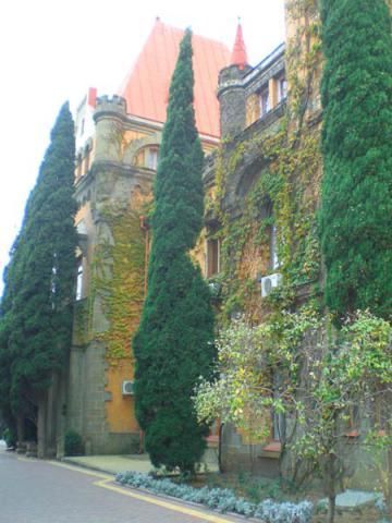 Замок княгини Гагариной. Алушта, Утес