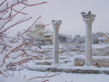 Херсонес. Зима