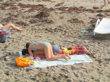 После купания. Согрей меня, пожалуйста!!! Пляж, Судак