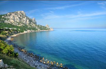Море в Кацивели
