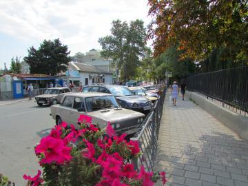 Парковка в Судаке