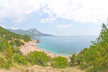 Пляж и горы Батилимана