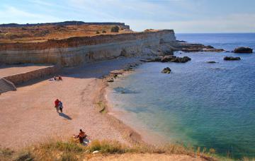 Пляж Казачей бухты