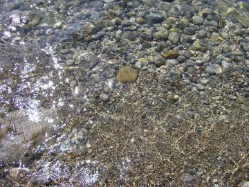 Прозрачная вода в балаклаве